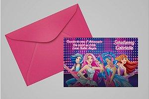 Convite 10x15 Barbie 046