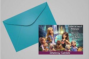 Convite 10x15 Barbie 047