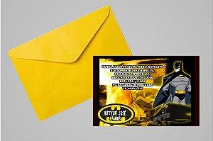 Convite 10x15 Batman 005