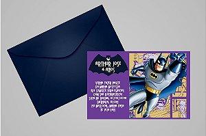 Convite 10x15 Batman 006