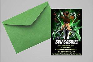 Convite 10x15 Ben 10 001