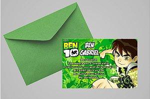 Convite 10x15 Ben 10 006