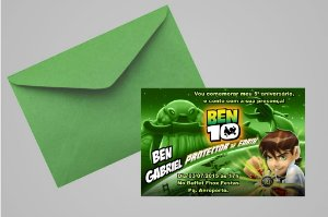 Convite 10x15 Ben 10 009