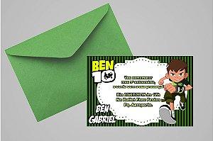 Convite 10x15 Ben 10 011