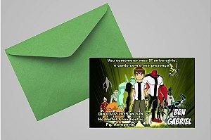 Convite 10x15 Ben 10 012