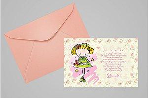 Convite 10x15 Boneca Palito 002