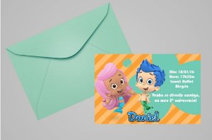 Convite 10x15 Bubble Guppies 002