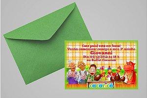 Convite 10x15 Cocoricó 001