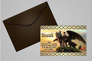 Convite 10x15 Como Treinar o Seu Dragão 002