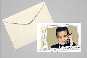 Convite ou foto lembrança 10x15 de Primeira Comunhão 012
