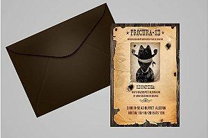 Convite 10x15 Cowboys 004