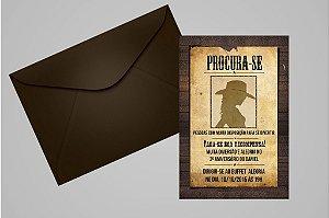 Convite 10x15 Cowgirls 001