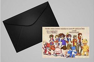 Convite 10x15 Digimons 002