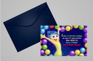 Convite 10x15 Divertida Mente 004