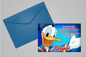 Convite 10x15 Donald 001