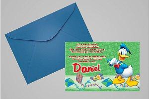 Convite 10x15 Donald 002