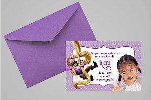 Convite 10x15 Enrolados 002 com foto