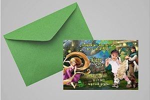 Convite 10x15 Enrolados 006 com foto