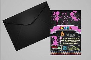Convite 10x15 Fadas 009