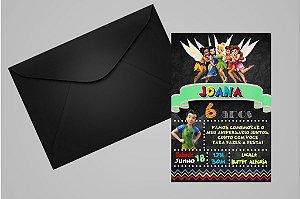 Convite 10x15 Fadas Disney 014