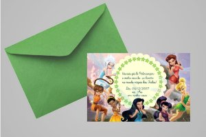 Convite 10x15 Fadas Disney 017