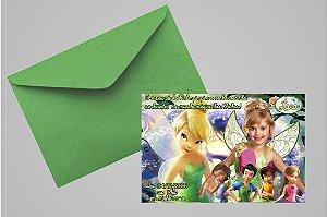Convite 10x15 Fadas Disney 021com foto