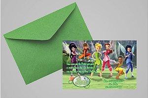 Convite 10x15 Fadas Disney 029