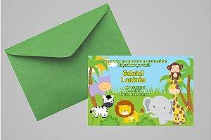 Convite 10x15 Floresta Encantada 002