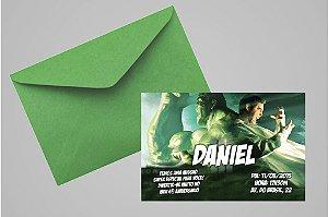 Convite 10x15 O Incrível Hulk 005