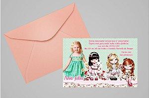Convite 10x15 Jolie da Tilibra 003 com foto