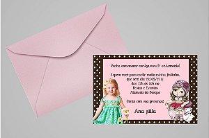 Convite 10x15 Jolie da Tilibra 004 com foto