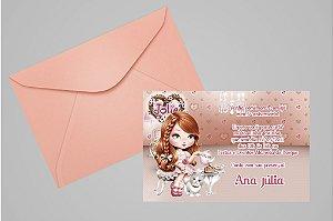 Convite 10x15 Jolie da Tilibra 007