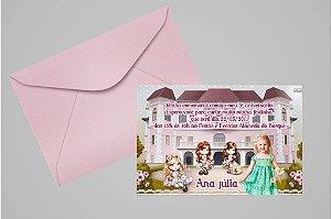 Convite 10x15 Jolie da Tilibra 008 com foto