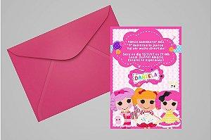 Convite 10x15 Lalaloopsy 008