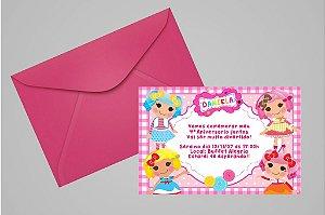 Convite 10x15 Lalaloopsy 012
