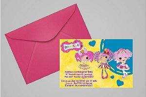 Convite 10x15 Lalaloopsy 013