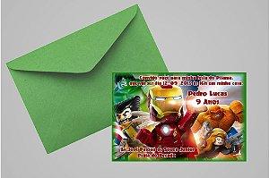 Convite 10x15 Lego Vingadores 005