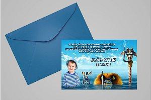 Convite 10x15 Madagáscar 016 com foto