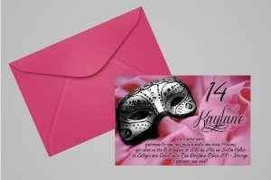 Convite 10x15 Mascara 001