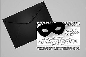 Convite 10x15 Mascara 006