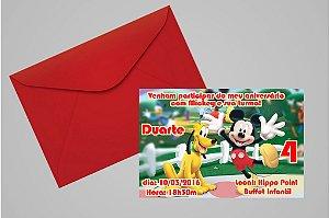 Convite 10x15 Mickey Mouse 006