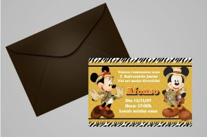 Convite 10x15 Mickey Safari 004