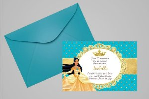 Convite 10x15 Pocahontas 002
