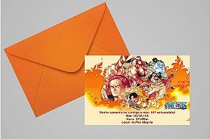 Convite 10x15 One Piece 001