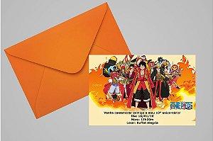 Convite 10x15 One Piece 002