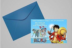 Convite 10x15 One Piece 003