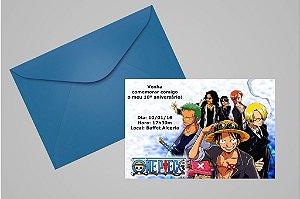 Convite 10x15 One Piece 004
