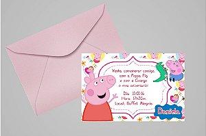 Convite 10x15 Peppa Pig 001