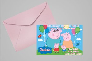 Convite 10x15 Peppa Pig 003