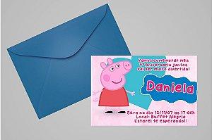 Convite 10x15 Peppa Pig 007